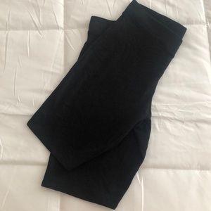 Express cotton biker shorts
